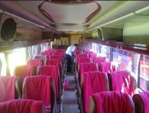 Interior Bus Agra Mas