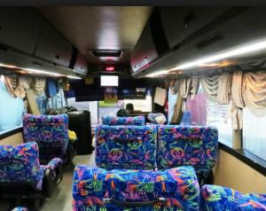 Interior Bus Bandung Expres Mewah