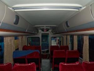 Interior Bus Gajah Mungkur