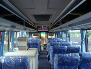 Interior Bus Garuda Mas