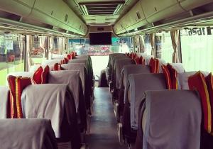 Interior Bus Gunung Harta