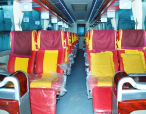 Interior Bus Harapan Jaya