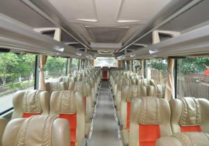 Interior Bus Keramat Djati