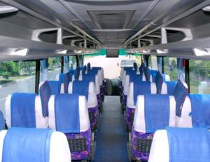 Interior Bus Pahala Kencana