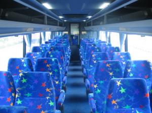Interior Bus Sinar Jaya