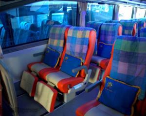 Interior Bus Surya Bali