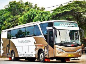 Armada Bus New Shantika