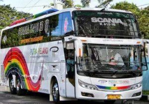 Armada bus Putra Pelangi