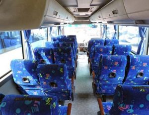 Interior Bus Blue Star