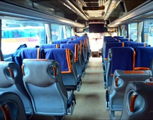 Interior Bus Laju Prima