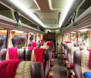 Interior Bus New Shantika