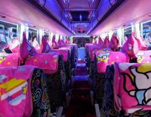 Interior Bus Putra Pelangi