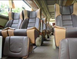 Interior mewah bus Murni Jaya