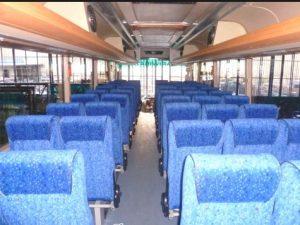 Interior Bus Dewi Sri Pariwisata