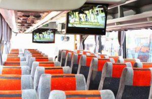 Interior mewah bus Panorama