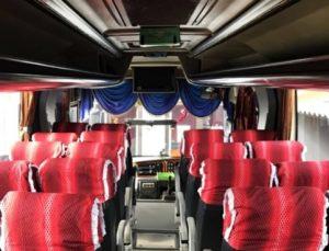 Interior Bus Bhinneka Sangkuriang
