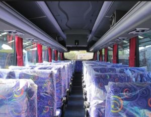 Interior Bus Medali Mas