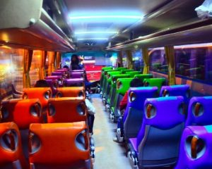 Interior Bus Rajawali