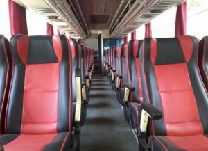Interior Bus Tunggal Dara