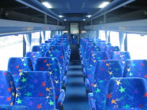 Interior Bus Budiman Bandung – Yogyakarta