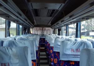 Interior Bus EKA Solo - Semarang