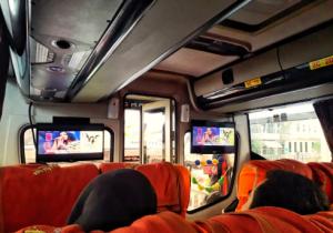 Interior Bus Sugeng Rahayu Surabaya - Bandung