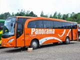 Armada bus pariwisata Panorama