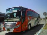 Bus Kramat Djati Jakarta-Surabaya
